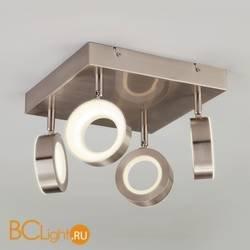 Потолочный светильник Eurosvet Frisco 20065/4 сатин-никель 24W