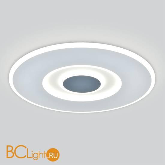 Потолочный светильник Eurosvet Just 90219/1 белый/ серый с ПДУ