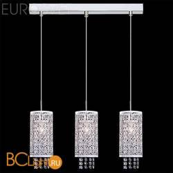 Подвесной светильник Eurosvet Лагуна 1181/3 хром