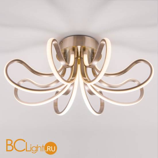 Потолочный светильник Eurosvet Lilium 90079/8 сатин-никель 80W