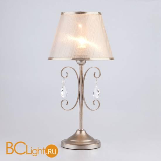 Настольная лампа Eurosvet Liona 01051/1 серебро