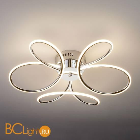 Потолочный светильник Eurosvet Lozanna 90083/3 хром 63W