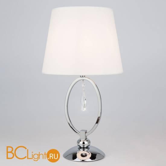 Настольная лампа Eurosvet Madera 01055/1 хром/прозрачный хрусталь Strotskis
