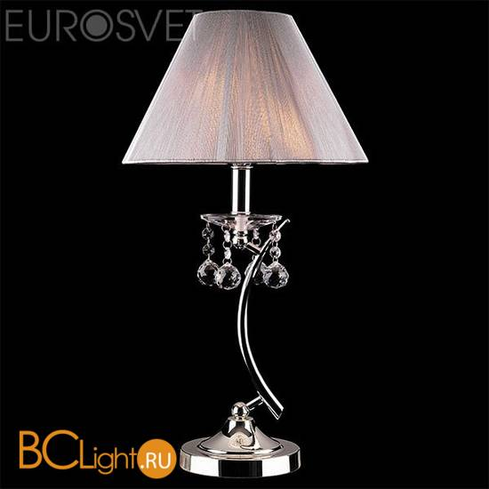 Настольная лампа Eurosvet Odette 1087/1 хром