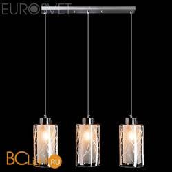 Подвесной светильник Eurosvet Сантос 50001/3 хром