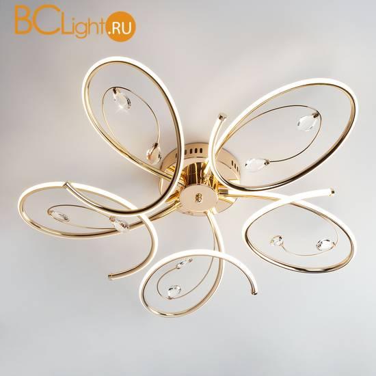 Потолочный светильник Eurosvet Saona 90099/5 золото 90W
