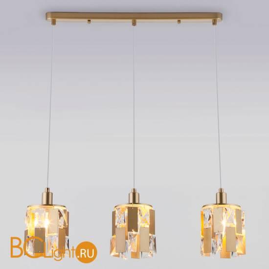 Подвесной светильник Eurosvet Scoppio 50101/3 перламутровое золото