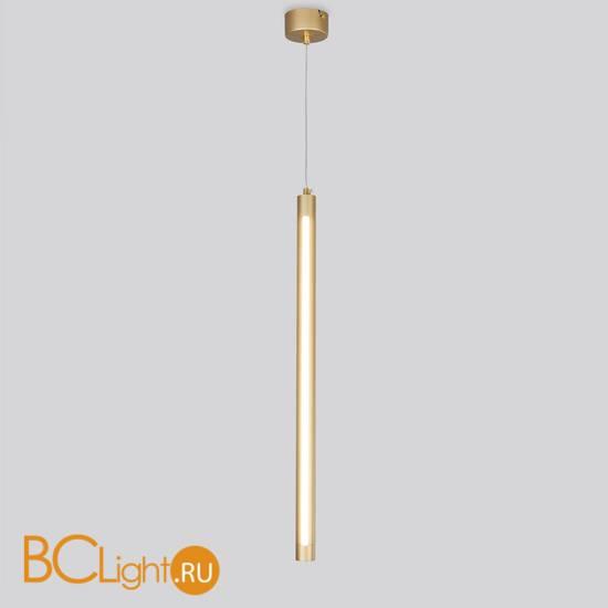 Подвесной светильник Eurosvet Strong 50189/1 LED матовое золото
