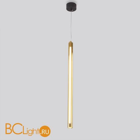 Подвесной светильник Eurosvet Strong 50189/1 LED черный/золото