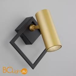 Настенный светильник Eurosvet Turro 20091/1 LED черный/ золото