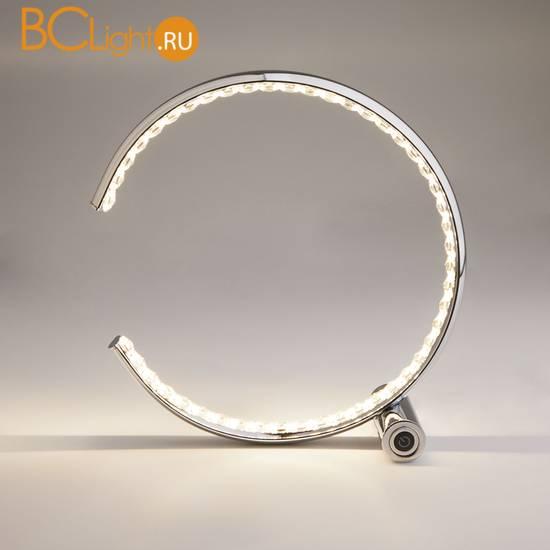 Настольная лампа Eurosvet Vortex 80411/1 хром 10W