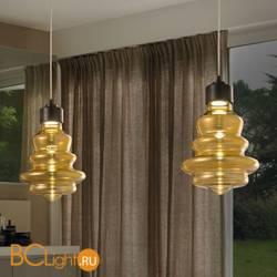 Подвесной светильник Evi Style Trottola Nero Ambra