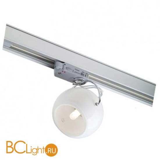 Трековый светильник Fabbian Beluga White D57 J15 01