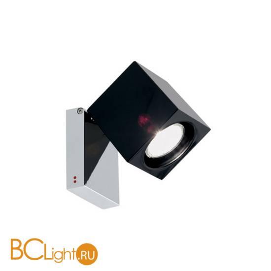 Спот (точечный светильник) Fabbian Cubetto Black Glass D28 G03 02