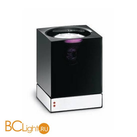Настольная лампа Fabbian Cubetto Black Glass D28 B03 02