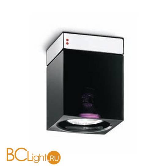 Спот (точечный светильник) Fabbian Cubetto Black Glass D28 E01 02