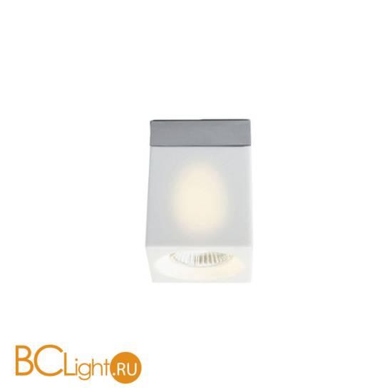 Накладной точечный светильник Fabbian Cubetto White Glass D28 E01 01