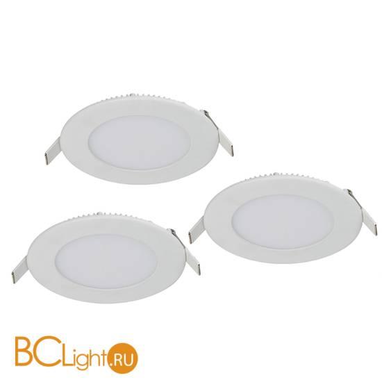 Встраиваемый светодиодный светильник Favourite Flashled 1660-3C (упаковка из 3 шт)