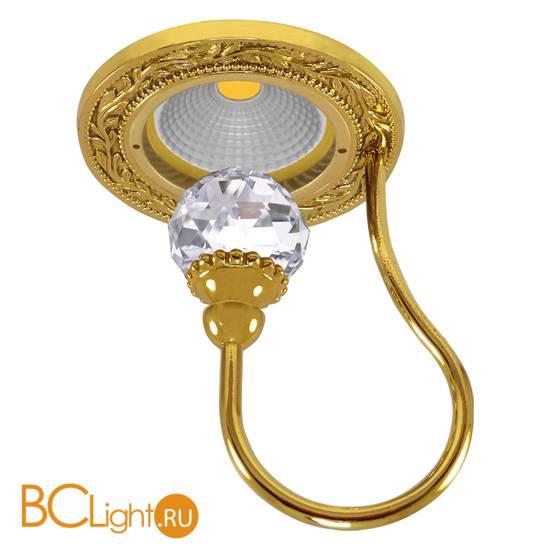 Встраиваемый спот (точечный светильник) FEDE Lighting Crystal De Luxe Paris FD1034CLOB