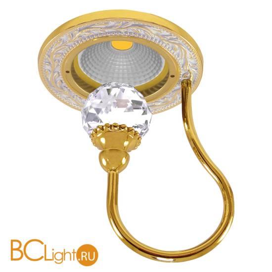 Встраиваемый спот (точечный светильник) FEDE Lighting Crystal De Luxe Paris FD1034CLOP