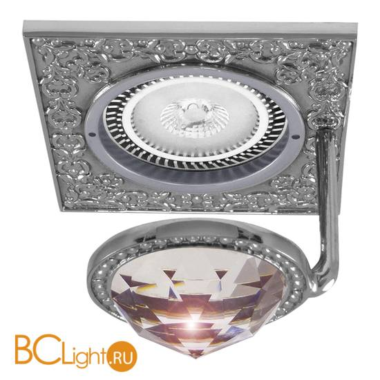 Встраиваемый спот (точечный светильник) FEDE Lighting Crystal De Luxe San Sebastian FD1033CLCB