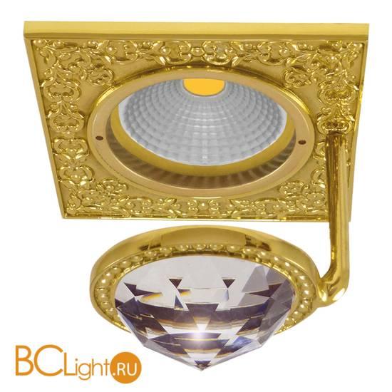 Встраиваемый спот (точечный светильник) FEDE Lighting Crystal De Luxe San Sebastian FD1033CLOB