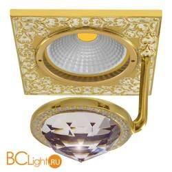 Встраиваемый спот (точечный светильник) FEDE Lighting Crystal De Luxe San Sebastian FD1033CLOP