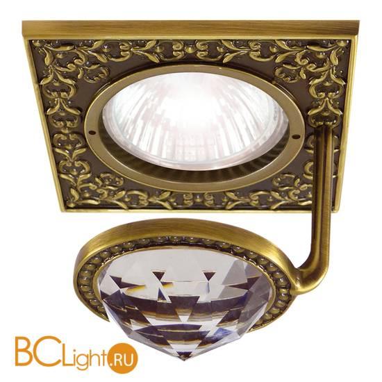 Встраиваемый спот (точечный светильник) FEDE Lighting Crystal De Luxe San Sebastian FD1033CLPB
