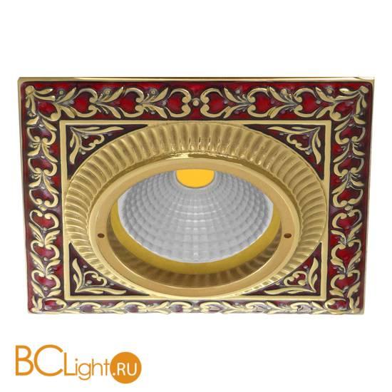 Встраиваемый спот (точечный светильник) FEDE Lighting Smalto Italiano Siena Square FD1005ROEN