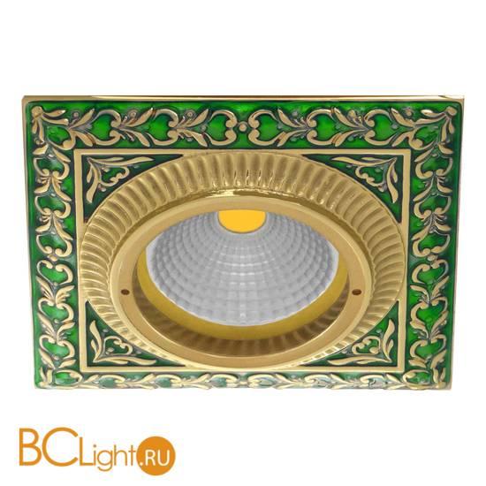 Встраиваемый спот (точечный светильник) FEDE Lighting Smalto Italiano Siena Square FD1005VEEN