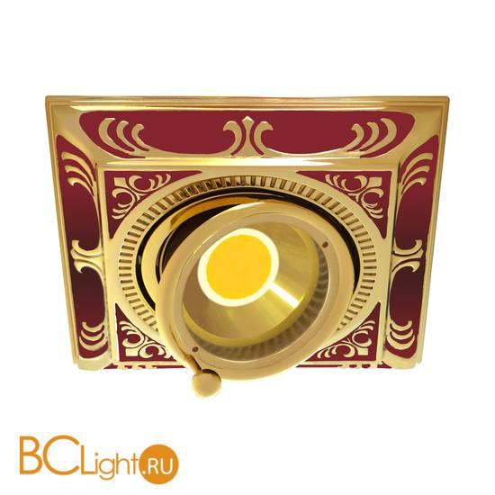 Встраиваемый спот (точечный светильник) FEDE Lighting Smalto Italiano SS Square FD1024ROEN
