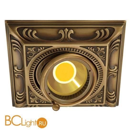 Встраиваемый спот (точечный светильник) FEDE Lighting Toscana Siena Square FD1024CPB