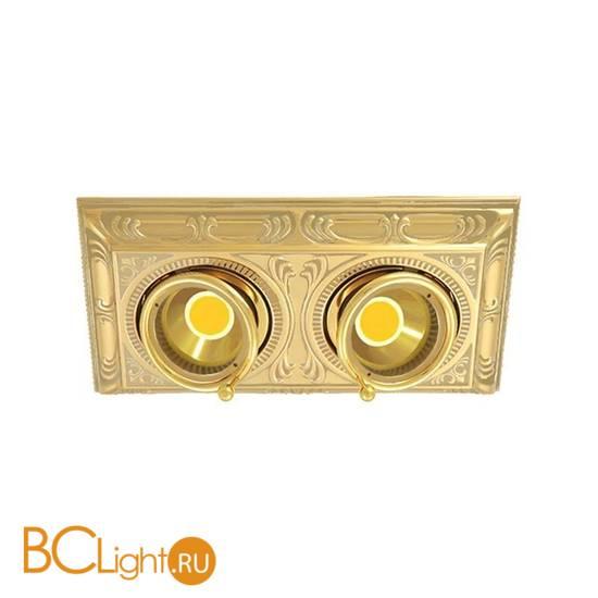Встраиваемый спот (точечный светильник) FEDE Lighting Toscana Siena Square Two FD1025COB
