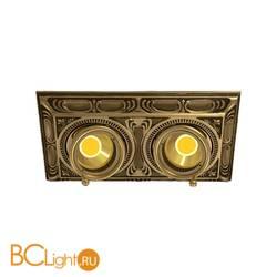 Встраиваемый спот (точечный светильник) FEDE Lighting Toscana Siena Square Two FD1025CPB