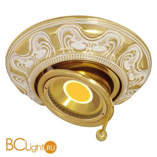 Встраиваемый спот (точечный светильник) FEDE Lighting Toscana Siena Swivel Tilt FD1037ROP
