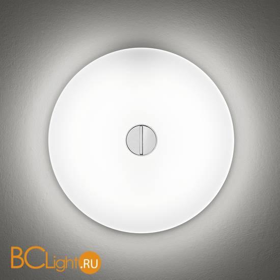 Настенно-потолочный светильник Flos Button White/White F3180009