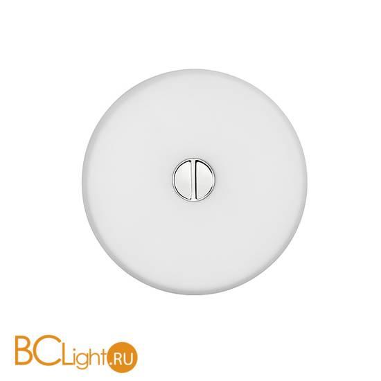 Настенно-потолочный светильник Flos Mini Button White F1491009