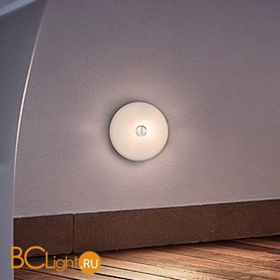 Настенно-потолочный светильник Flos Mini Button Glass F1490009
