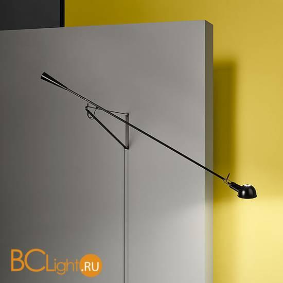 Настенно-потолочный светильник Flos 265 Black A0300030