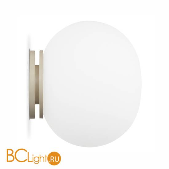Настенно-потолочный светильник Flos Mini Glo-Ball C/W Mirror Mount. F4190009