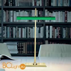Настольная лампа Flos Goldman Brass/Green F3440044