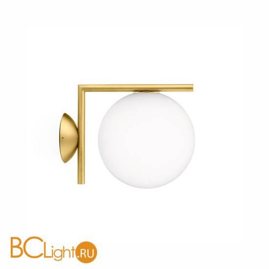 Бра Flos IC Lights C/W 1 Brushed brass F3178059
