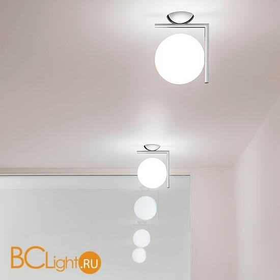 Настенно-потолочный светильник Flos IC Lights C/W 2 Chrome F3179057