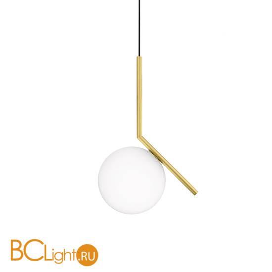 Подвесной светильник Flos IC Lights S2 Brushed brass F3176059