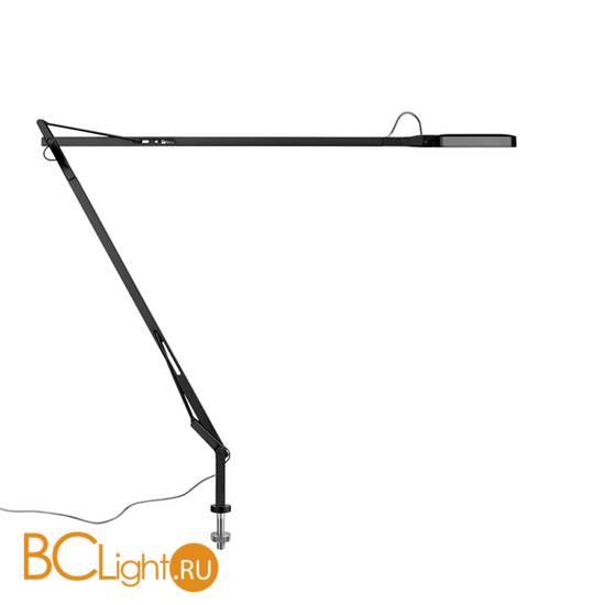 Настольная лампа Flos Kelvin LED Desk support (Visible cable) Shiny black F3308030