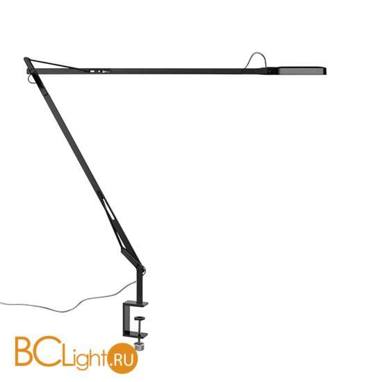 Настольная лампа Flos Kelvin LED Clamp Shiny black F3301030