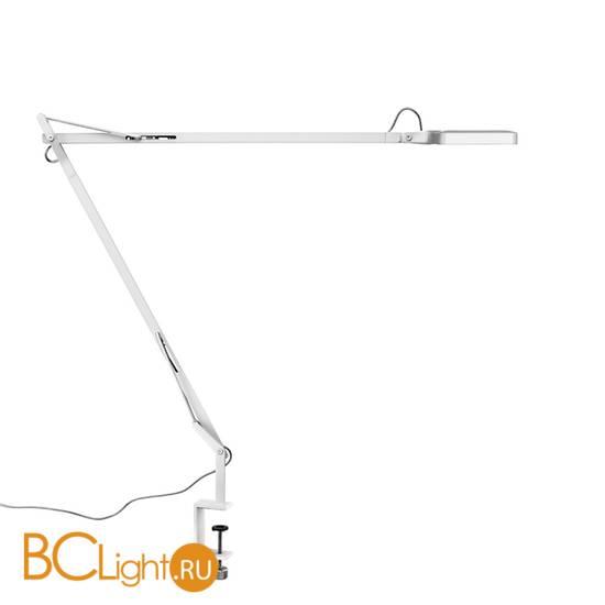 Настольная лампа Flos Kelvin LED Clamp Shiny white F3301009