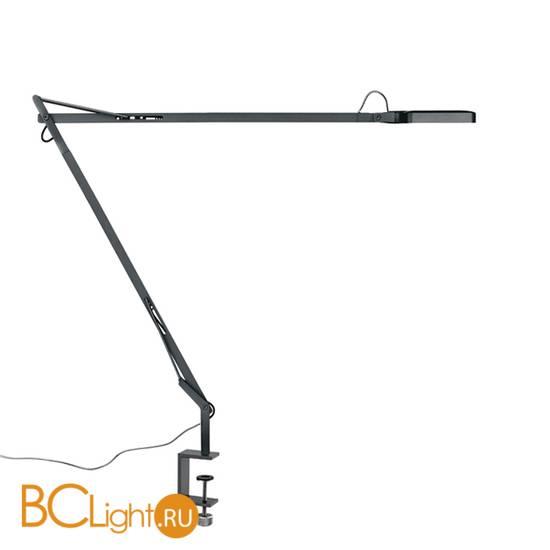 Настольная лампа Flos Kelvin LED Clamp Anthracite F3301033