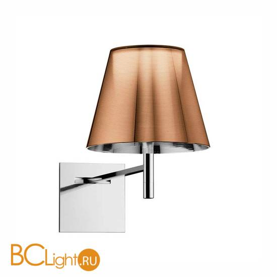 Бра светильник Flos Ktribe W Aluminized bronze F6307046