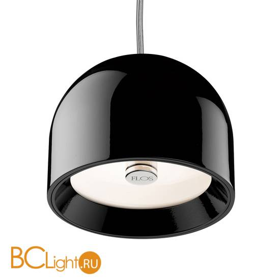 Подвесной светильник Flos Wan S Black F9560030